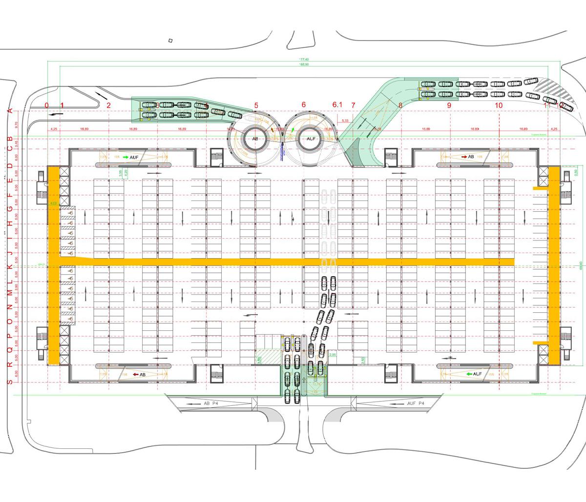Parkplatzplanung